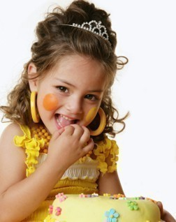 Photo of birthday dresses, tops, outfits and accessories for kids
