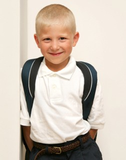 Photo of School uniforms for little boys at Sophias Style.