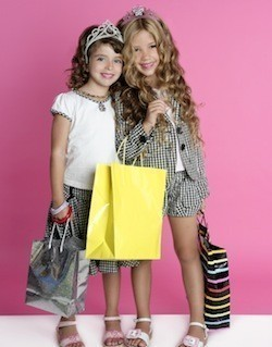 Little girls fashion clothes. Women clothing stores