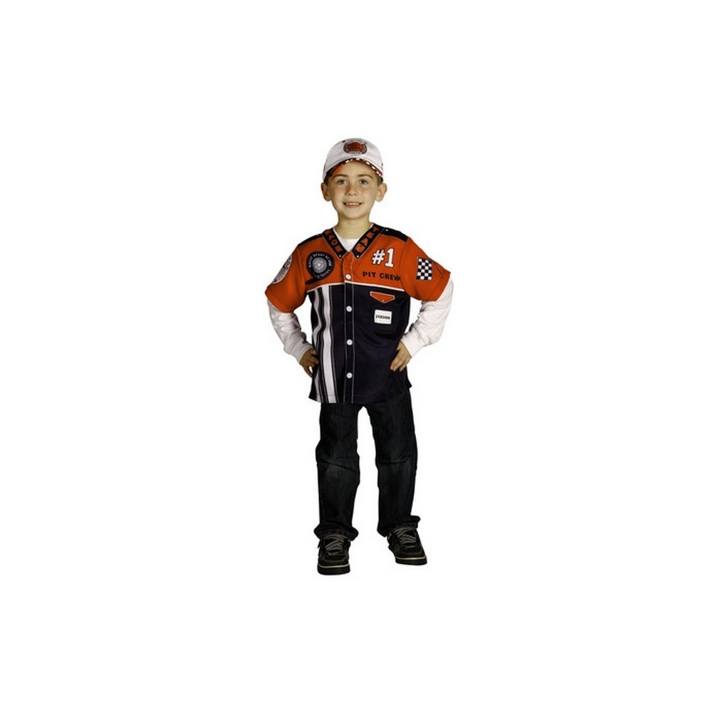 Aeromax Halloween My 1st Career Gear Pit Crew Shirt Ages 3-5 at Sears.com