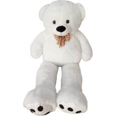 Kreative Kids White Giant Teddy Bear Stuffed Animal Toy 4 Feet