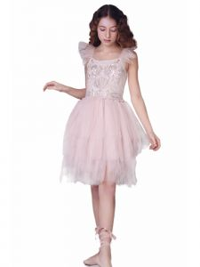 Ooh! La, La! Couture Little Girls Lilac Sugar Plum Fairy Christmas Dress 2T-5
