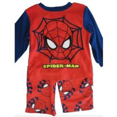 Spiderman Little Boys Red Logo Graphic Printed 2 Pc Pajama Set 2T-4T