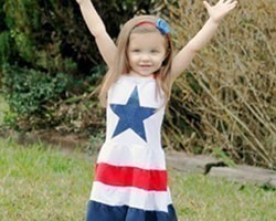 4th of July Girls Dresses
