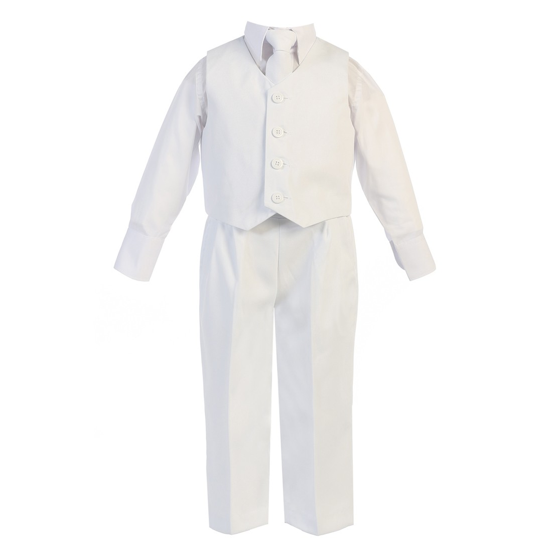 ce853c331720 Lito Baby Boys White Vest Pants Special Occasion Easter Outfit Set 6-24M - Sophia's  Style