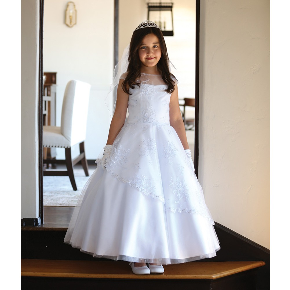 Plus Size First Communion Dresses | Best Dresses 2019
