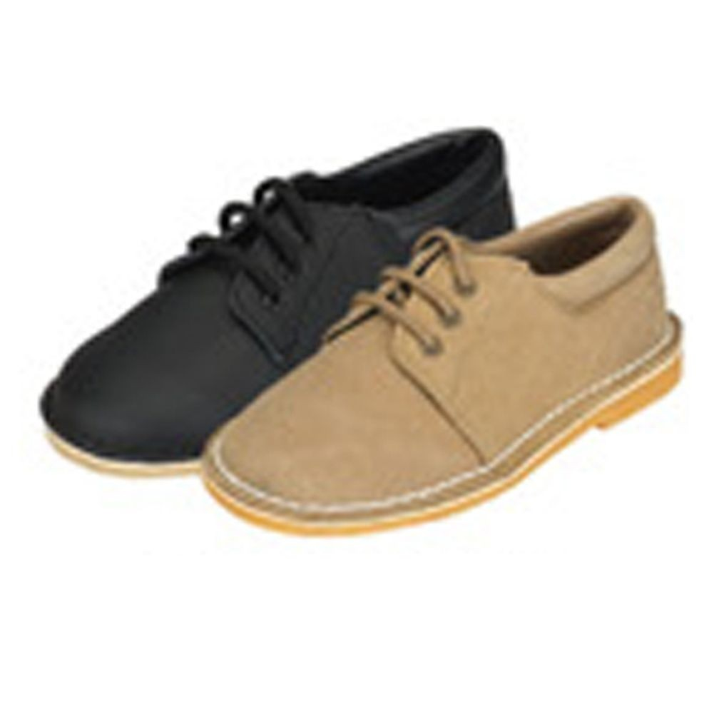 5ccc48f61f2f Brown Faux Suede Little Boys Lace-up Casual Dress Shoe Size 13 - Sophia s  Style