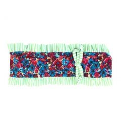 Azul Girls Multi Color Mixed Floral Print Wild At Heart Swim Headband