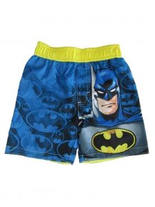 Dc Comics Little Boys Blue Batman Swim Shots 2T-4T