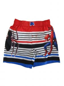 Marvel Little Boys Red Spiderman Swim Shorts 2-3T