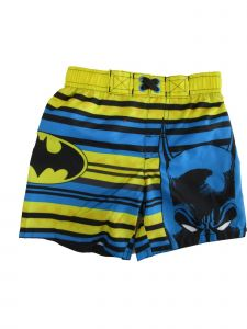 DC Comics Little Boys Blue Batman Swim Shorts 2-4T