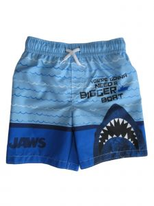 Jaws Little Boys Blue You Are Gonna Need a Bigger Boat Swim Shorts 4-7