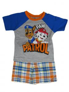 Nickelodeon Little Boys Multi Paw Patrol Short Sleeve T-Shirt Shorts Outfit 2-4T