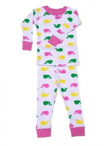 New Jammies Unisex Little Kids Pink Cotton 2 Pc Sleepwear Set 2T-6