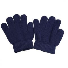 Escape by Polar Extreme Unisex Little Kids Navy Solid Color Knit Winter Gloves