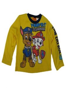 Nickelodeon Little Boys Yellow Paw Patrol Long Sleeve Sweater 4-7