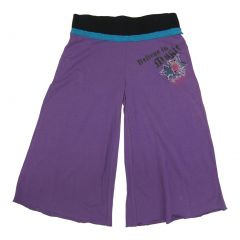 Disney Big Girls Purple Wizard Of Waverly Place Bottom Bell Pants 7-16