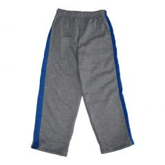 Marvels Little Boys Grey Royal Blue Side Stripe Superman Sweat Pants 4-7