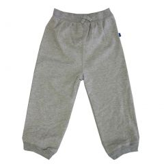 Little Me Little Boys Grey Solid Color Adjustable Waist Sweat Pants 2-4T