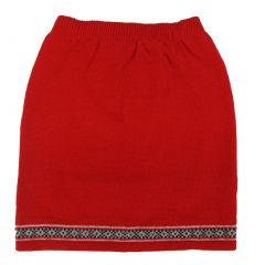 Disney Big Girls Red 101 Dalmatians Inspired Style Knitted Skirt 7-12