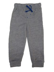 Nickelodeon Little Boys Grey Elastic Waist Jogger Sweat Pants 2T-4T