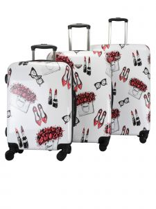 """ATM Vue Color Uptown Collection 4-Wheeled 3 Pc Luggage Suitcase Set 22"""" 26"""" 30"""""""