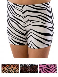 Pizzazz Girls Multi Color Animal Print Body Basics Boys Cut Briefs Youth 2-16