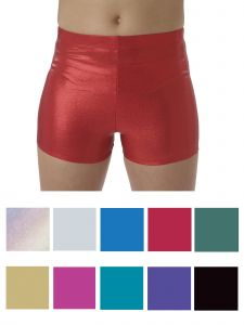 Pizzazz Girls Multi Color Metallic Body Basics Boys Cut Briefs Youth 2-16