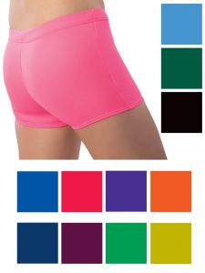 Pizzazz Girls Multi Color Body Basics Boys Cut Sport Briefs Youth 2-16