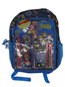 Nickelodeon Unisex Blue Paw Patrol School Supplies Backpack