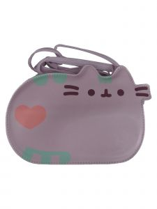 Pusheen Women Purple Cross Body Adjustable Strap Bag Purse