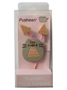 Pusheen Adult Unisex Multi Color Pizza Earbuds