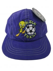 Looney Tunes Little Boys Purple Tweety Baseball Cap