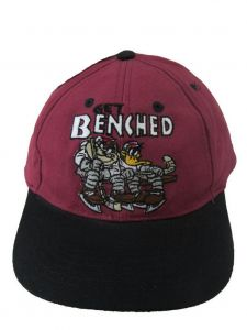 Looney Tunes Little Boys Burgundy Get Benched Baseball Cap