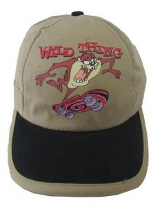 Looney Tunes Little Boys Khaki Wild Thing Taz Baseball Cap