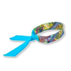 Azul Girls Yellow Blue Abstract Print Native Threads Stylish Headband