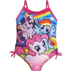 Hasbro Little Girls Pink My Little Pony Character One Piece Swimsuit 4-6X