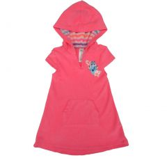 Disney Little Girls Pink Finding Dory Hooded Short Sleeved Cover-Up 2T-5
