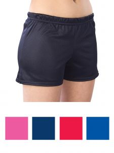 Pizzazz Girls Multi Color Mesh Shorts Youth 2-16