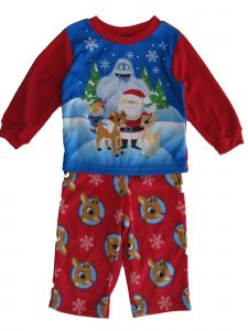 Rudolph Toddler Boys Christmas Pajama 2pc Set 2T-4T