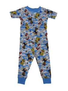Nickelodeon Little Boys Blue Paw Patrol Short Sleeve 2 Pc Pajamas Set 2-4T