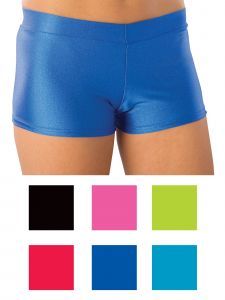 Pizzazz Girls Multi Color Sport Hot Shorts Youth 2-16