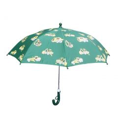 Green Construction Boys Umbrella