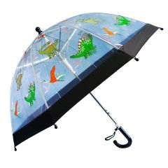 Foxfire Boys Dinosaurs Clear Dome Umbrella