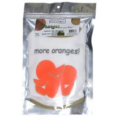 Raindrops Unisex Baby Bib-To-Go 3-Piece Gift Set, Oranges