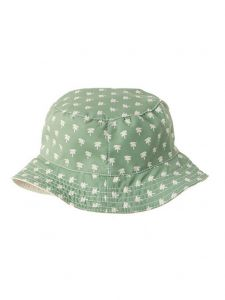 Azul Boys Green Palms Springs Print Reversible Sun Bucket Hat 2M-5Y