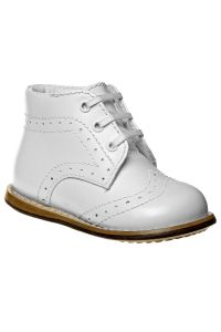 Josmo Unisex White Hard Sole Walker Casual Shoes 2 Baby-8 Toddler