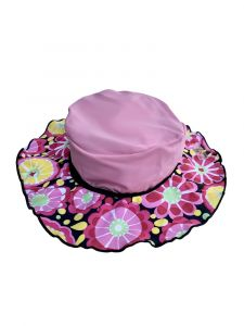 Azul Girls Pink Fresh Blossom Hat 6M-2
