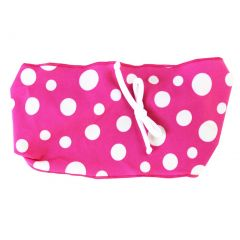 Azul Girls White Orange Polka Dotted Pattern Dippin' Dots Swim Headband
