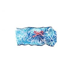 Azul Girls Blue Red Stripe Floral American Dream Patriotic Headband
